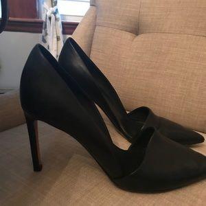 VINCE black heels